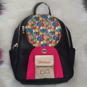 EUC!! Betsey Johnson Bubblegum Backpack